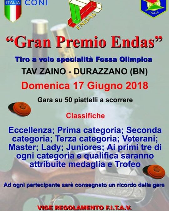 """Gran Premio ENDAS 2018"""