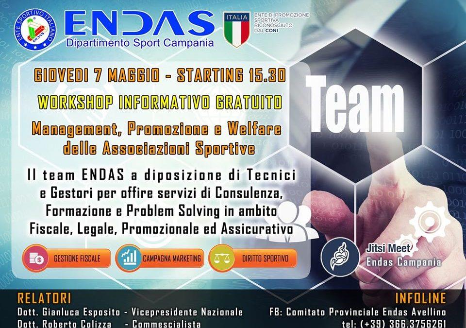 Workshop informativo Endas Avellino